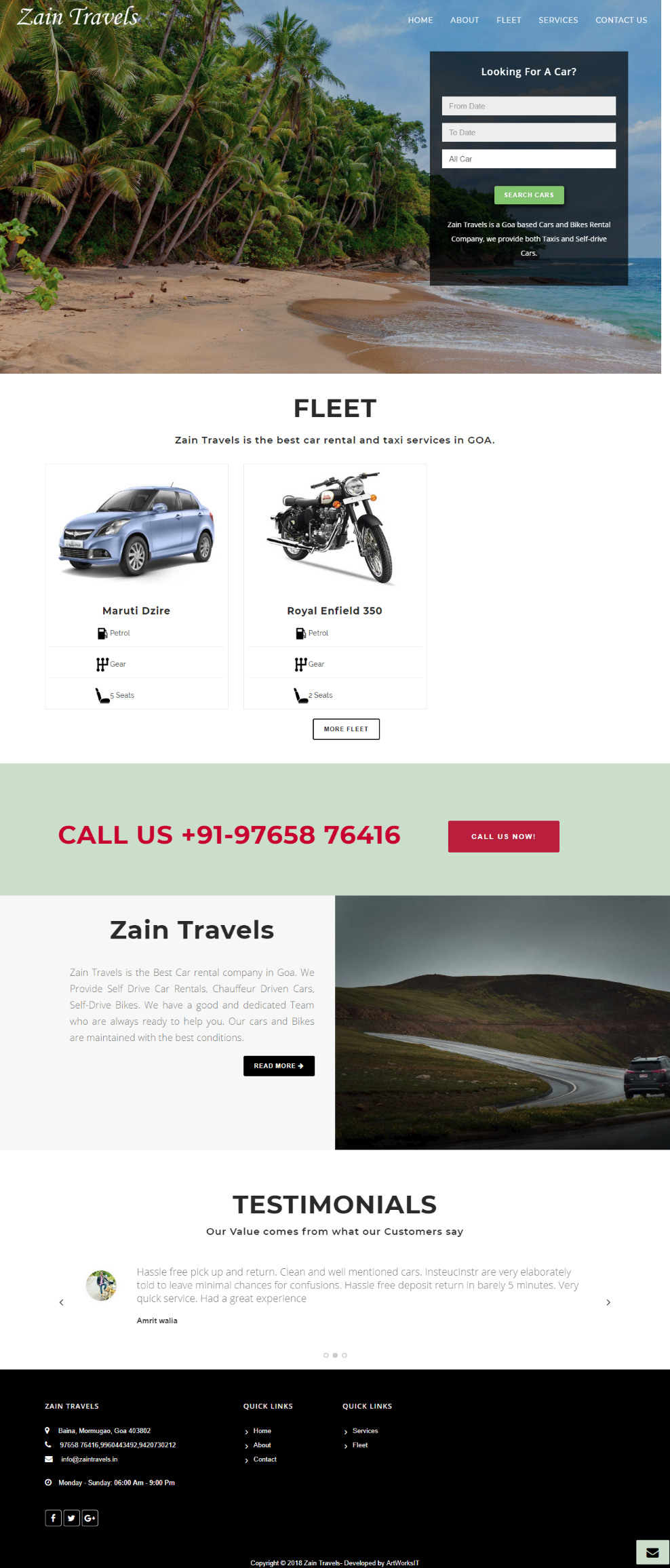 Zain Travels